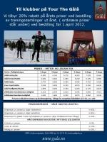 Tilbud til skifolket!